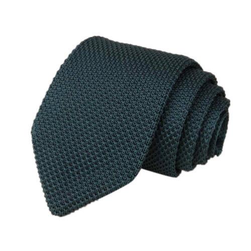 Casual Slim Plain Mens Solid Skinny Neck Party Wedding Tie Silk Stripe Necktie