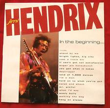 NM 1984 VINYL LP - Jimi Hendrix – In The Beginning... - PREMIER CBR 1031