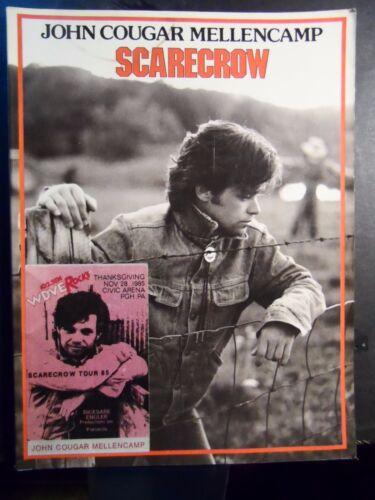 JOHN COUGAR MELLENCAMP SHEET MUSIC SONGBOOK / SCARECROW / P/V/G / SONG BOOK