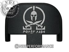 Rear Slide Plate for Smith Wesson S&W SD9 SD40 VE 9mm 40BK Molon Labe 2