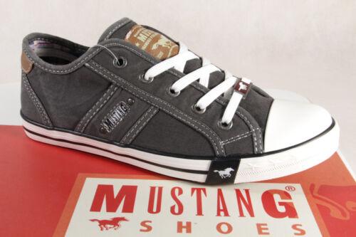 Mustang Schnürschuhe Sneaker Halbschuhe Sportschuhe grau 1099  NEU