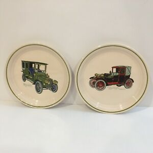 Brendan-Erin-Stone-Lot-Of-2-Antique-Cars-Made-In-Arklow-Ireland