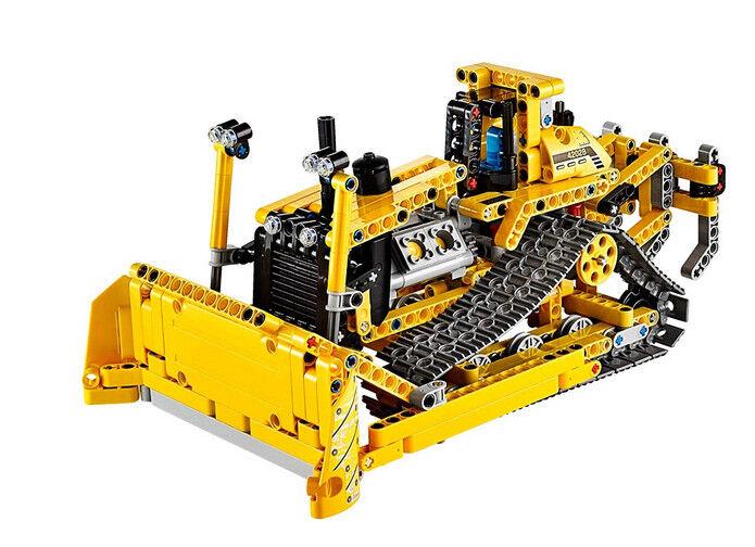 LEGO TECHNIC Bulldozer 42028-Complet, démonté-TOP