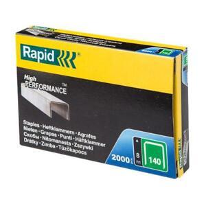 flatwire Galvanised Steel 8mm 4000 Pack 140/8 Knowledgeable Rapid 140/8 Series Staples