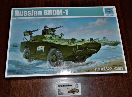 Russian amphibious scout car Amphibienfahrzeug BRDM-1  in 1:35 Trumpeter  05596