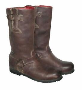STARK-034-YELLOW-CAB-034-Herren-Western-Stiefel-Biker-Boots-in-braun-in-Gr-43