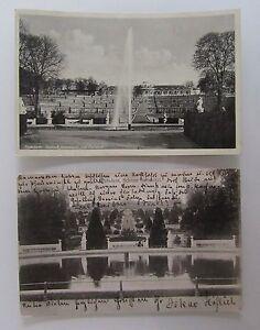 Postkarten-Lot-mit-2x-Potsdam-Brandenburg-Schloss-Sanssouci-1908-amp-1938-gelaufen