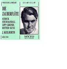 Mozart: Die Zauberflote Rudolf Schock Wilma Lipp Erich Kunz Joseph Keilberth 2CD