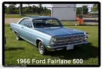 1966 Ford Fairlane 500 Refrigerator Magnet