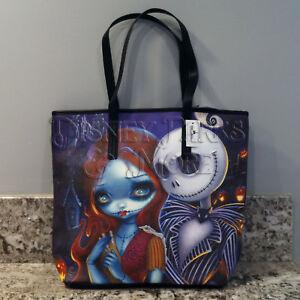 Nightmare Before Christmas Purses Handbags.Details About Disney Nightmare Before Christmas Jack Sally Tote Bag Jasmine Becket Griffith