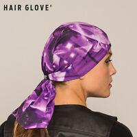 Hair Glove® Ez Tube - Purple Butterflies, 54015, Multi-functional Head Wear