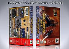 DUKE NUKEM 64. NTSC VERSION. Box/Case. Nintendo 64. BOX + COVER. (NO GAME).