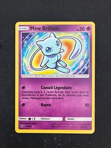 Carte pokemon mew brillant 40/73 sortie de booster légende brillante