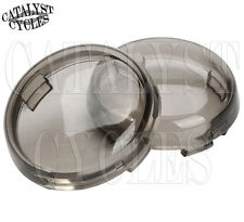 Smoke Replacement Lens for Harley Turn Signal Lens Set Deuce Style Signal Lenses