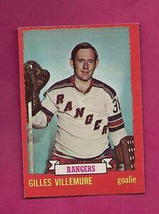 1973-74-OPC-119-RANGERS-GILLES-VILLEMURE-GOALIE-EX-MT-CARD-INV-5888