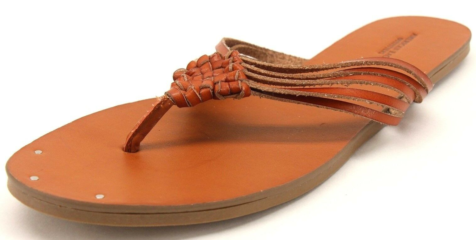 American Eagle Women's Brown Size Woven Strap Flip Flops Size Brown US 10 e209cd