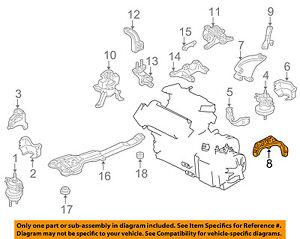 image is loading mazda-oem-95-02-millenia-engine-rear-mount-