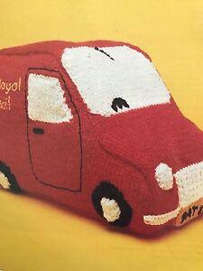 Fct32 knitting pattern postman pat van car knitted image is loading fct32 knitting pattern postman pat van car knitted dt1010fo