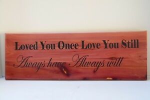 Hand Made Wood Sign Home Wall Decor