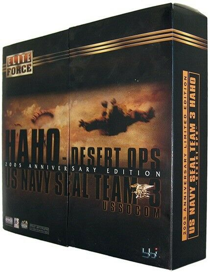 US Navy Seal Team 3 HAHO 2005 Anniversary Figure Limited Edition 1 6th Scale