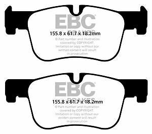DP42143R EBC Yellowstuff Front Brake Pads fit BMW