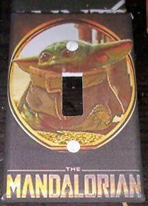 Custom Handmade The Mandalorian Single Toggle Light Switch Cover