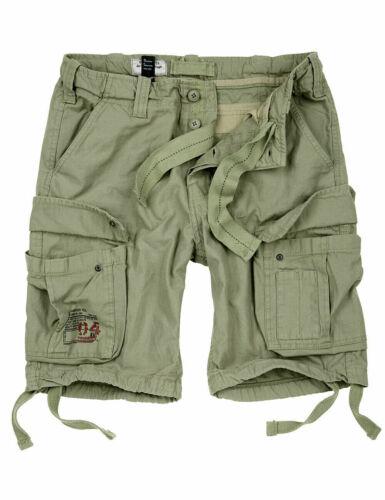 Surplus Raw Vintage Airborne Army Brève Shorts Bermuda Outdoor Pantalon Cargo Baggy
