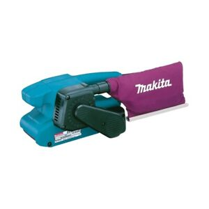Makita 9911 3 inch Belt Sander 76MM X 457MM Belt Size 240v Dust Bag uk plug