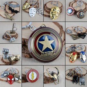 Factory-Price-The-Avengers-Superhero-Movie-Marvel-Comics-Character-Metal-KeyRing