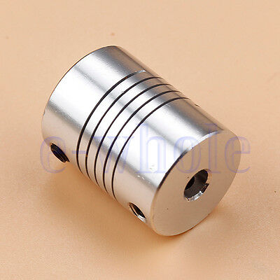 5x8mm CNC Motor Jaw Shaft Coupler 5mm To 8mm Coupling OD 20x25mm HM