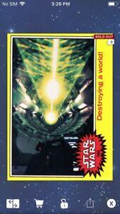 Topps-Star-Wars-Digital-Card-Trader-1977-Series-3-Card-160-Insert