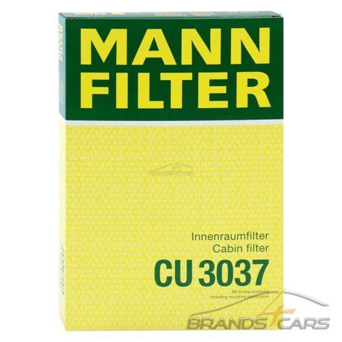 Mann-Filter interior filtro para audi a4 b6 8e b7 8e 00-09