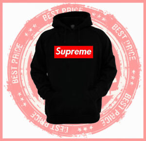 Red Supreme Box Hoodie - Multi Colors - Unisex Adults & Kids ...