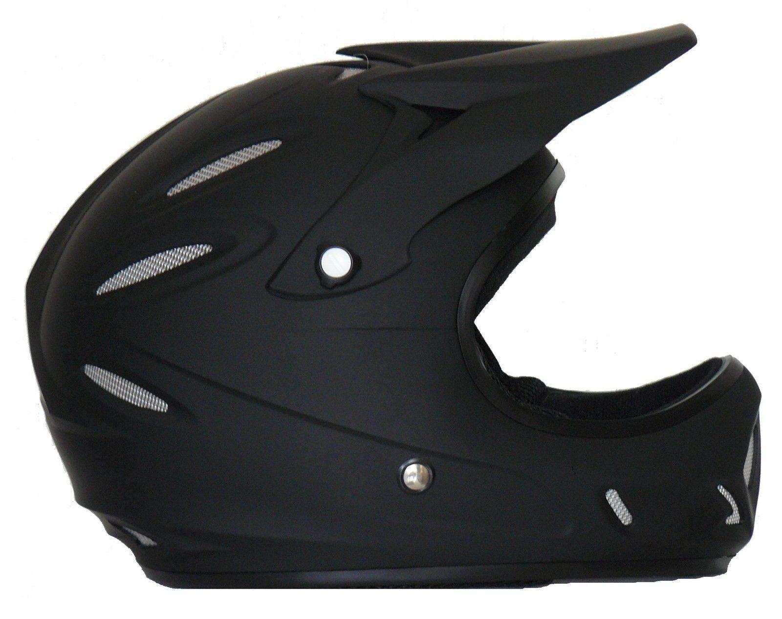 Downhill Freeride BMX Dirt Helm FH40-SW schwarz-matt Größe XXXS bis XXL NEU