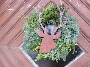 Edelrost-Hirsch-Jaeger-Rentier-Rost-Deko-Metall-Rost-Tiere-Garten-Weihnachtsdeko