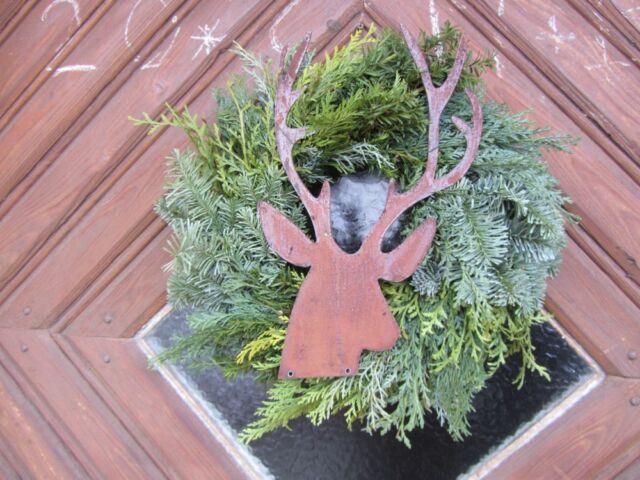 Edelrost Hirsch Jäger Rentier Rost Deko Metall Rost Tiere Garten Weihnachtsdeko