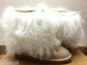 61191807c1b Details about UGG CLASSIC SHORT SHEEPSKIN CUFF SAND / NATURAL US 7 / EU 38  / UK 5.5