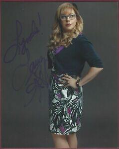 Kirsten Vangsness, Schauspielerin, Signiert 20.3cm x 25.4cm Foto, COA, Uacc Rd