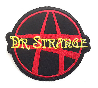 "Doctor Strange 3"" to 3.5"" Embroidered Patch Set of 2- Free S&H (MCPA-09-B)"