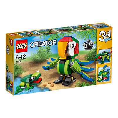 Lego Creator 31031 - Regenwaldtiere 3-IN-1, neu und top