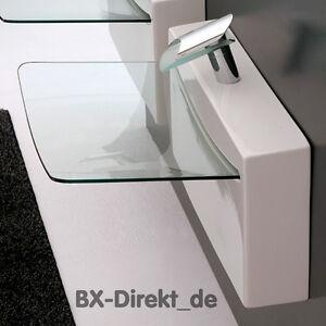 glas waschtisch crystal wall designer waschbecken keramik artceram aus italien ebay. Black Bedroom Furniture Sets. Home Design Ideas
