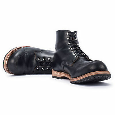 NIB MENS WOOLRICH YANKEE BOOT IRON BLACK USA MADE 8 8.5 9 11-13 $325 SOLD OUT!