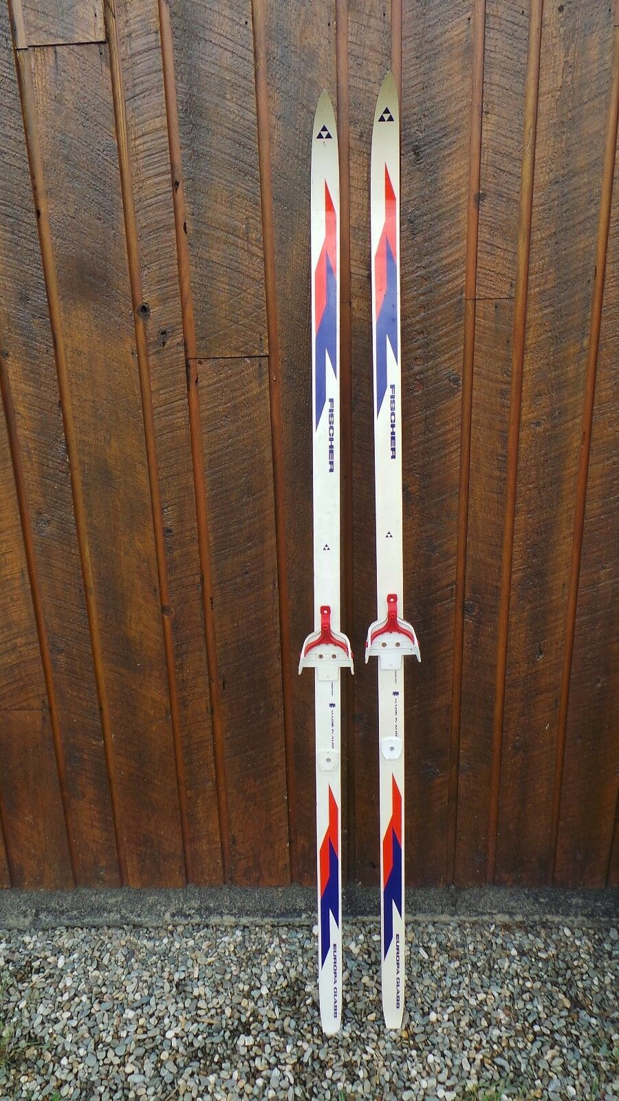 Vintage Skis 72  Long  Original RED blueE Finish Great for Decoration  new products novelty items