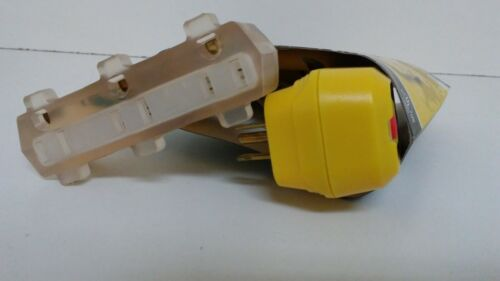 Details about  /NEW UNUSED POWER-PHASE TRIPLE TAP W// RIGHT ANGLE GFCI PLUG 2 FT 0717459