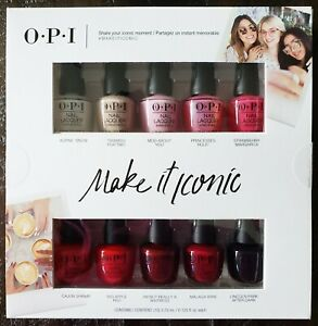 Details About Opi Make It Iconic Mini Nail Lacquer Polish Gift Set Ddi02 Pick 5 Pc Or 10 Pc
