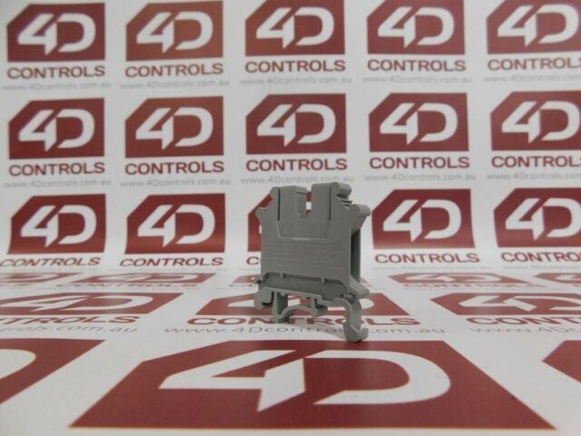 Phoenix Contact UK5N Terminal Block 4mm2 Grey - New No Box