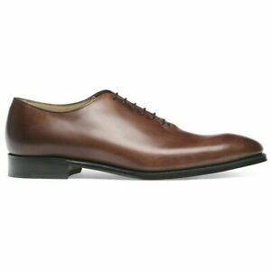 Scarpe-formali-stringate-oxford-in-vera-pelle-marrone-da-uomo-fatte-a-mano