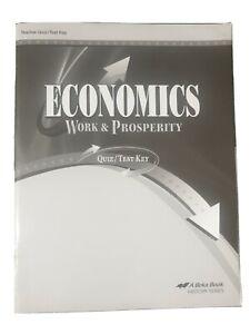 ABEKA: Economics,Work & Prosperity, Teacher Ed., Answer ...