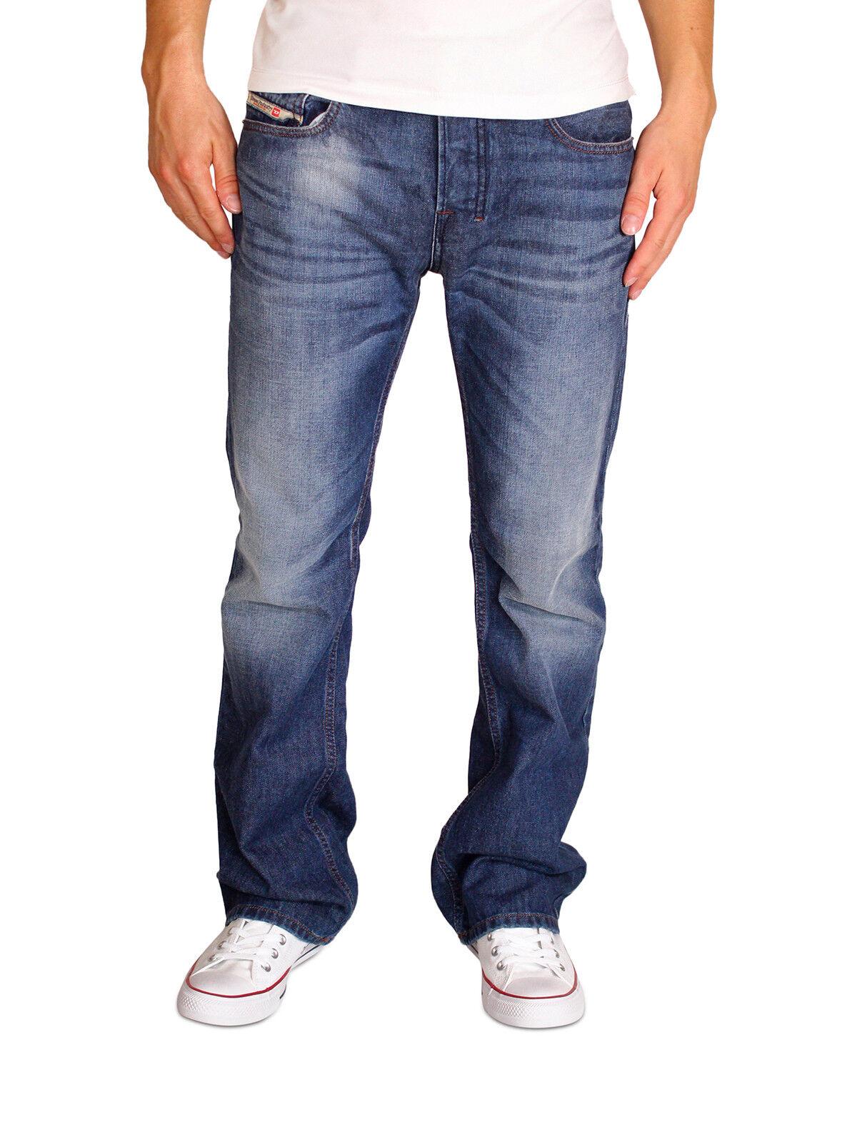 Diesel Jeans Zatiny 0842C 0842C 0842C  Herren Hose Regular Stiefel Cut Stiefelcut Dunkelblau NEU 151cac