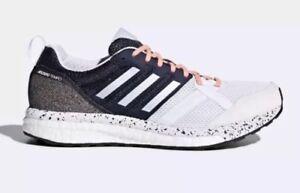 Adidas Adizero Tempo 9 Women s Size 10 Running Shoes White Aero Blue ... b2c328f1629d